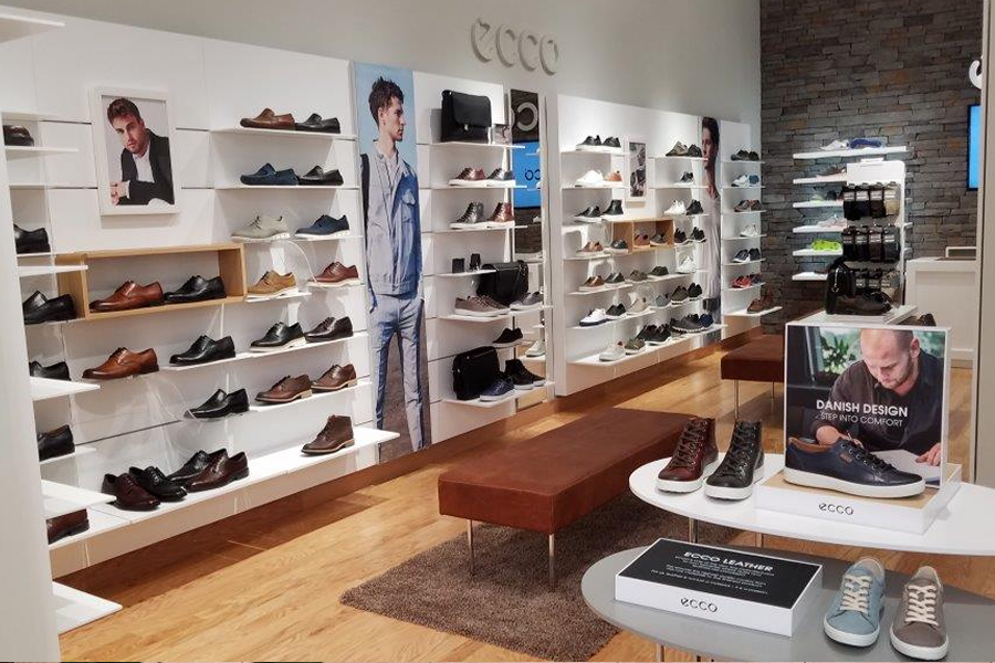 Outlet-Store modische Muster Outlet-Verkauf ecco Shoes Retail Store - DRAS Cases
